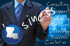 louisiana typical business services and concepts