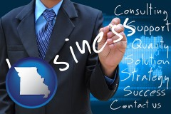 missouri typical business services and concepts
