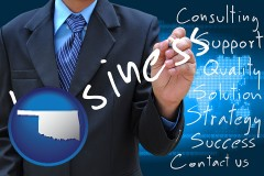 oklahoma typical business services and concepts