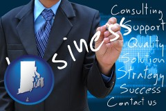 rhode-island typical business services and concepts