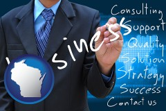 wisconsin typical business services and concepts