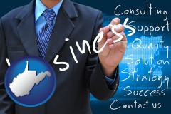 west-virginia typical business services and concepts