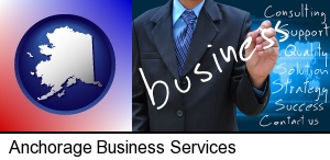 Anchorage, Alaska - typical business services and concepts