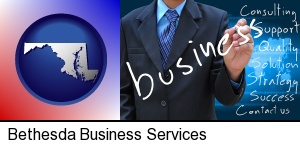 Bethesda, Maryland - typical business services and concepts