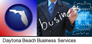typical business services and concepts in Daytona Beach, FL