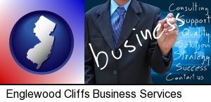 typical business services and concepts in Englewood Cliffs, NJ