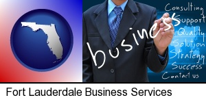 typical business services and concepts in Fort Lauderdale, FL
