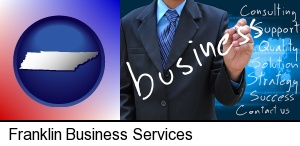 Franklin, Tennessee - typical business services and concepts