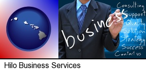 typical business services and concepts in Hilo, HI