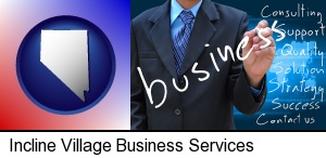 Incline Village, Nevada - typical business services and concepts
