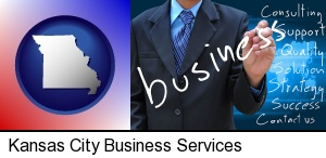 typical business services and concepts in Kansas City, MO