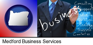 Medford, Oregon - typical business services and concepts