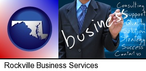 Rockville, Maryland - typical business services and concepts