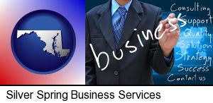 typical business services and concepts in Silver Spring, MD