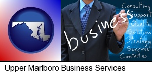 typical business services and concepts in Upper Marlboro, MD